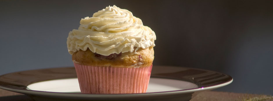 Cherry-Coconut-Cupcake